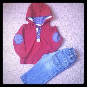 CHILDREN'S PLACE/ Minoti Boy Outfit